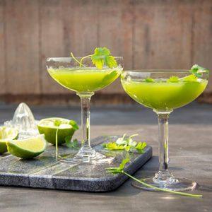 Wodka koriander cocktail